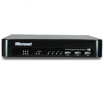 Micronet SP5736P PoE Plug-and-Play Videorecorder