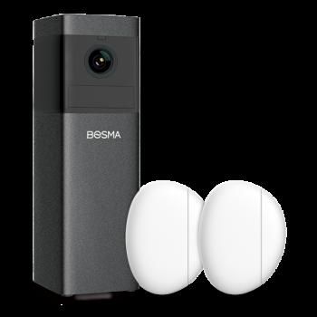 Bosma X1-2DS, WiFi beveiligingsset voor binnen, met sensoren