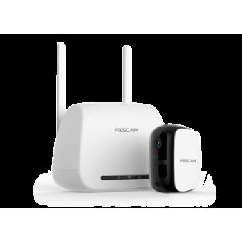 Foscam E1 – Compacte Draadloze HD Buitencamera met oplaadbare accu