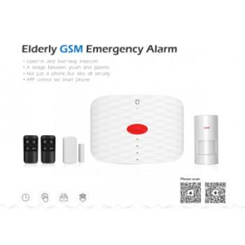Wolf Guard MS1 GSM SMS Persoonlijk Ouderen Alarm met alarmknop