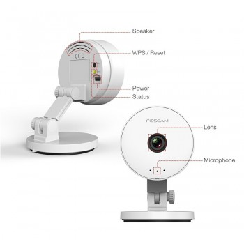 Foscam C1 Lite HD IP camera