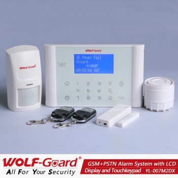 M2DX Wolf-Guard Intelligent Wireless GSM Alarm System
