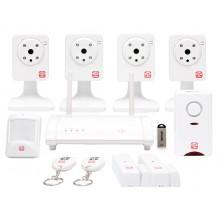 Oplink TripleShield C4S6 wifi alarmsysteem thuis